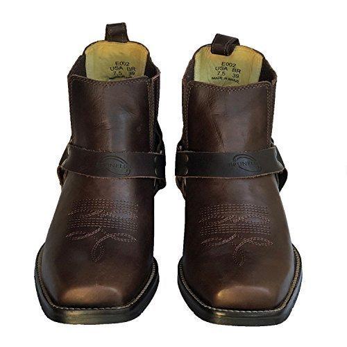 fbfaffd4f42ba Amazon.com: Shop Brunello's Leather Men's Square Toe Western Low Cut ...