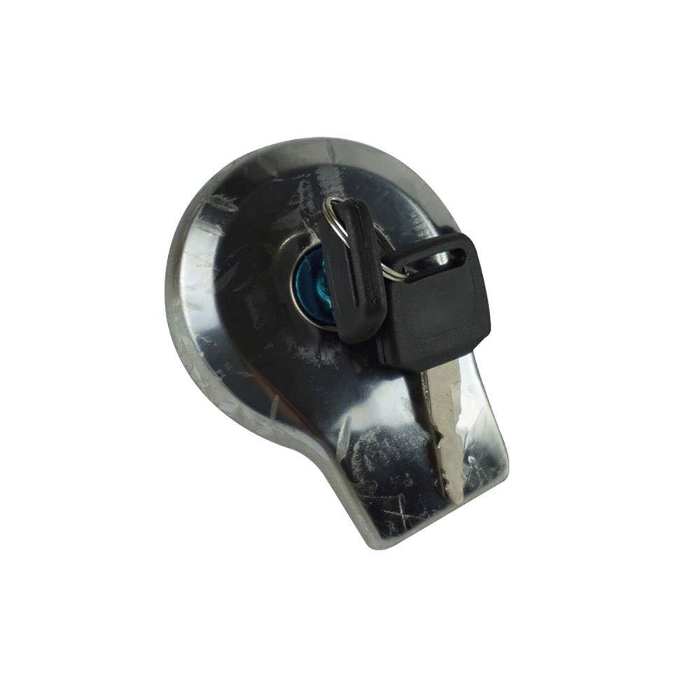 Hhpcspc New Fuel Gas Tank Cap Cover Keys For YAMAHA SR125 SR185 SR250 Virago XV125 1997-2000 XV250 Route 66 1988-2013