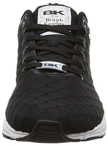 British Knights Jump - zapatilla deportiva de material sintético mujer Negro - negro (negro 01)
