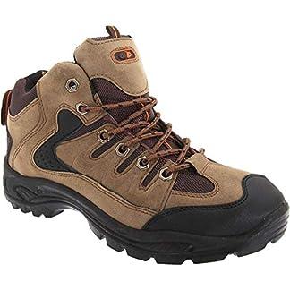 DEK ONTARIO Mens Lace Up Trail Trek Mid Ankle Boots Khaki 5