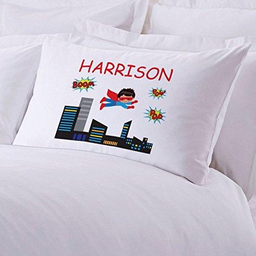 Personalized Direct Personalized Kids Superhero Pillowcase