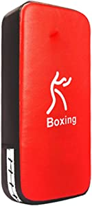 TigerBoss One Karate Taekwondo Boxing Kick Punch Adjustable Soft Shield Durable Training Pad for Boxing,Training and Protecting Your Palm,Wrist and Decreasing The Shock(Blue)