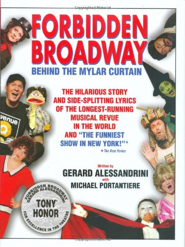 Forbidden Broadway: Behind the Mylar - In Nyc Stores Popular