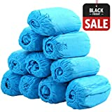 THETIS Homes Disposable Hygienic Boot & Shoe Covers For Medical, Construction, Workplace, Indoor Carpet Floor Protection - Machine-made (100 Piece)