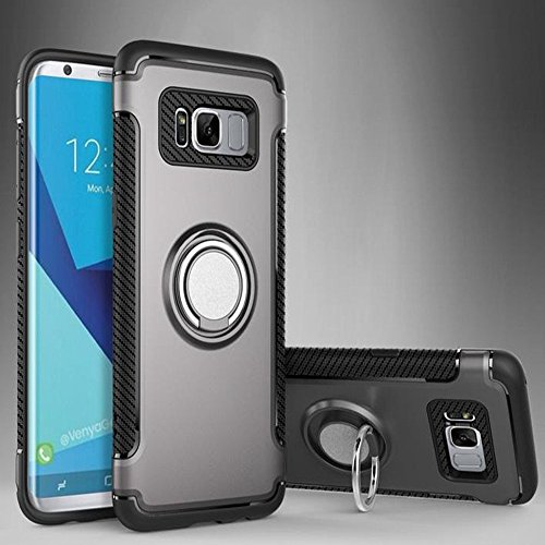 Price comparison product image YCXBOX Samsung Galaxy Note 8 Stand Case, 360 Degrees Rotation with Ring Grip Holder Phone Cover for Samsung Galaxy Note 8