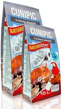 Cunipic Naturlitter  - Lecho ecológico de papel, 10 litros