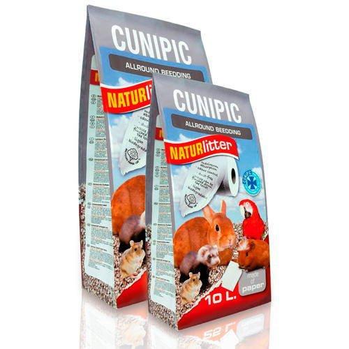 Cunipic Naturlitter - Lecho de papel ecológico 10 litros