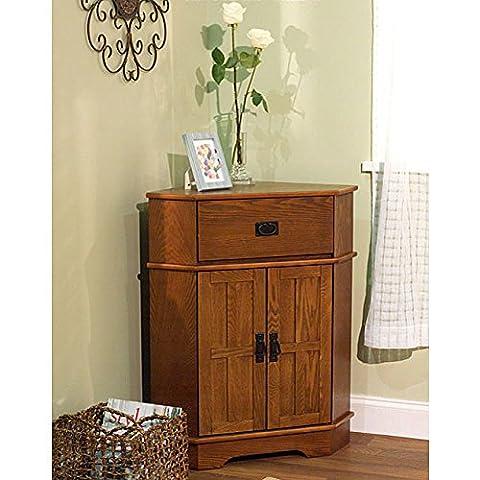 Simple Living Mission Corner Cabinet - Mission Style Corner