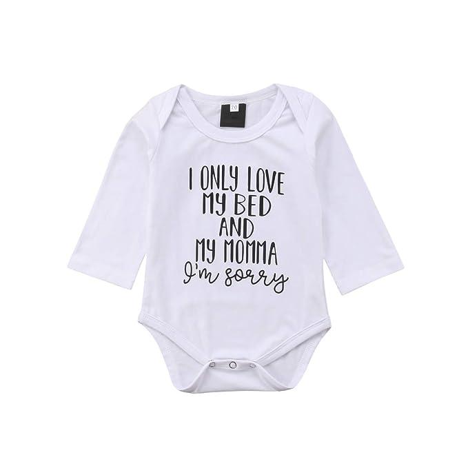 Amazon.com: Abril Jardín recién nacido bebé niño niña Romper ...