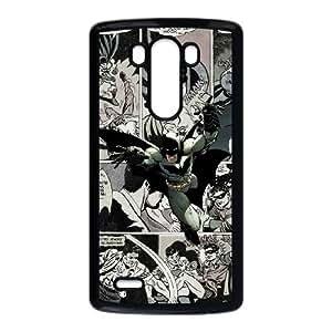 Batman Comics 1 Funda LG G3 Funda caja del teléfono celular Negro D4Q6GW caja del teléfono celular Plastic Back
