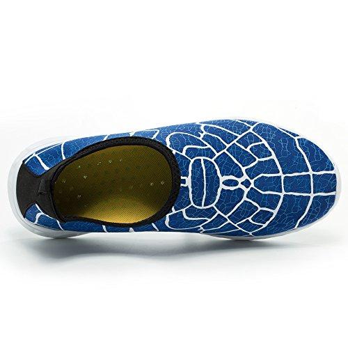 Gubarun Aqua Chaussures Deau Hommes Chaussures De Marche Léger Pour Les Femmes Bleu Royal