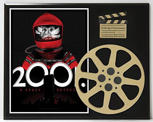 2001 A SPACE ODYSSEY STANLEY KUBRICK 2 LIMITED EDITION MOVIE REEL DISPLAY (2001 Space Odyssey Collectible compare prices)