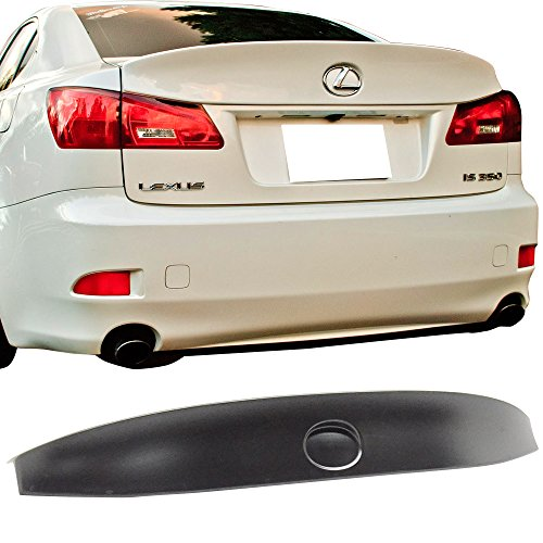 2006-2013 Lexus IS250 IS350 ISF Rear IK Style Trunk Lip Wing Spoiler ABS Unpaited Amazon#