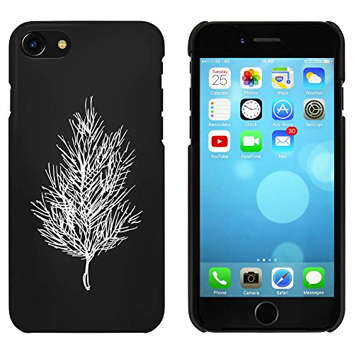 Noir 'Arbre Pin' étui / housse pour iPhone 7 (MC00072895)