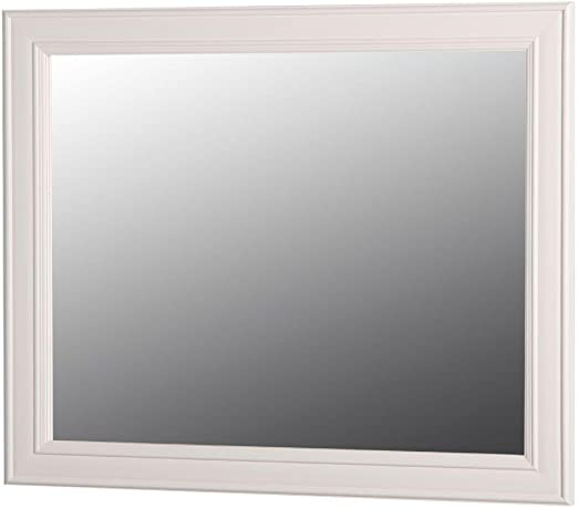 Amazon Com Home Decorators Collection Annakin 31 In W X 26 In H Wall Mirror In Cream Home Kitchen