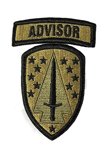 Security Uniform Patches (1st Security Force Assistance Brigade OCP Patch with Advisor Tab)