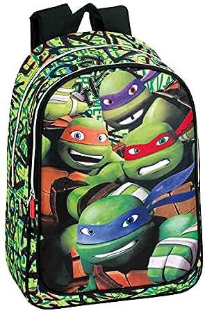 Montichelvo Tortugas Ninja - Mochila Adaptable