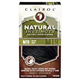 (US) Clairol Natural Instincts Hair Color For Men M19 Black 1 Kit (Pack of 3) - PACKAGING MAY VARY
