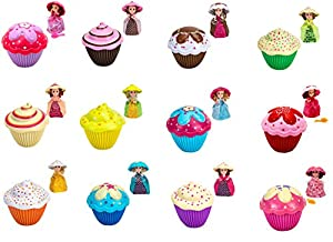 Cupcake Surprise Scented Princess Doll (Colors & Styles May Vary) by Sunny Days Entertainment, LLC