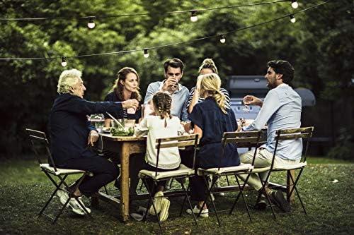 Campingaz Barbecue à gaz Class 4 L Plus, 4 brûleurs, Puissance 12.8kW, Système de nettoyage facile InstaClean, Grille et plancha en fonte double émaillage, 2 tablettes latérales