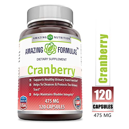 Amazing Nutrition Cranberry Natural Supplement product image