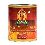 Laxmi All-Natural Kesar Canned Mango Pulp - 850gm
