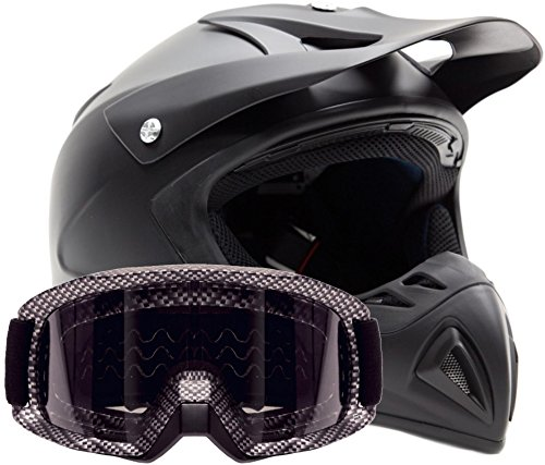 Adult Offroad Helmet Goggles Carbon product image