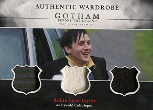 [Gotham Season 1 Costume Card TM3 Robin Lord Taylor as Oswald Cobblepot] (Gotham Costumes)