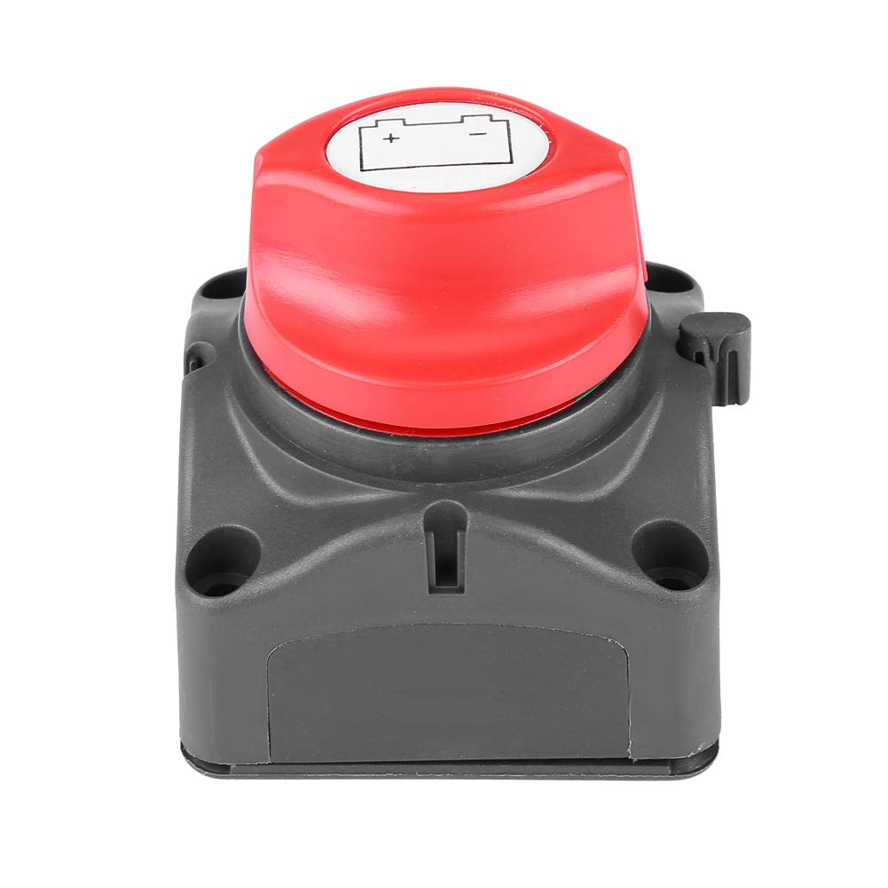 Power Switch, Yacht Car RV Vehicle Large Current Knob Battery Power Off Master Disconnect Switch by Wytino