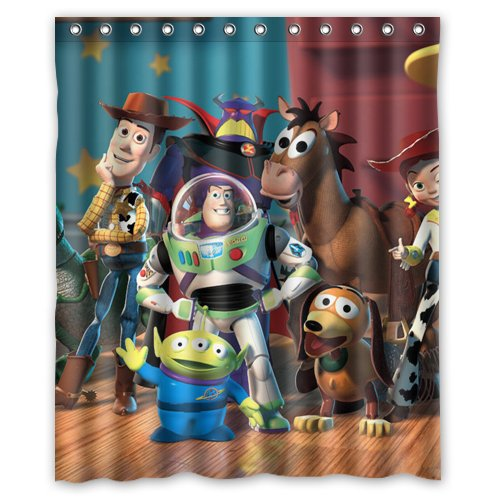 SEASIDESS Toy Story 2 Characters Custom Shower Curtain 60quot