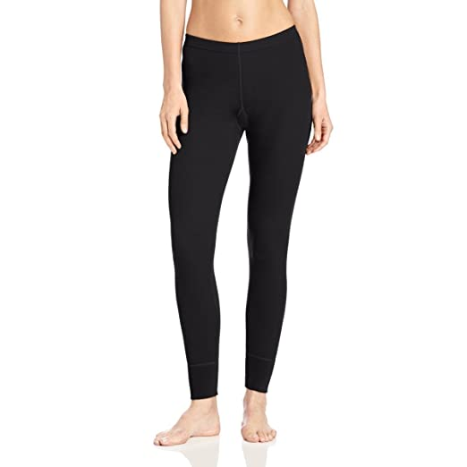 86d53e65e0 Minus33 Merino Wool Women's Franconia Midweight Bottom, Black, X-Small