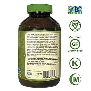 Pure Hawaiian Spirulina Powder 16 Ounce - Natural Premium Spirulina from Hawaii - Vegan, Non-GMO, Immunity Support - Superfood Supplement & Natural Multivitamin