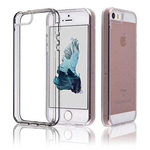 Samrick Etui anti choc pour iPhone 5/5S/SE Clair