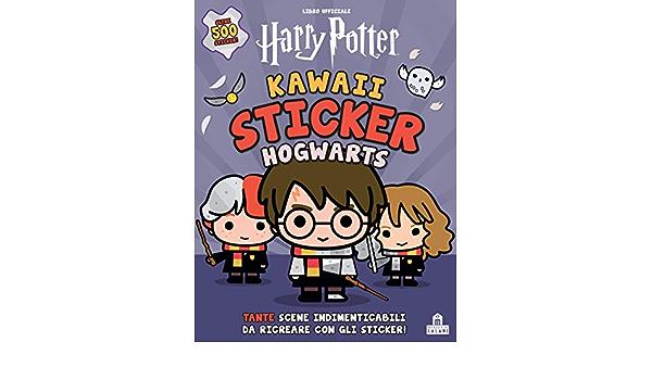 Hogwarts. Kawaii sticker. Harry Potter. Ediz. a colori J.K. ...