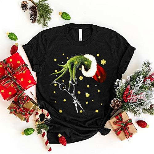 Hand Holding Scissors Hair Stylist Shirt - Christmas Halloween Shirt Fall T Shirt - Halloween Shirt - Cute Funny Scissors T-Shirt - Long Sleeve Tee - Sweatshirt - Hoodie