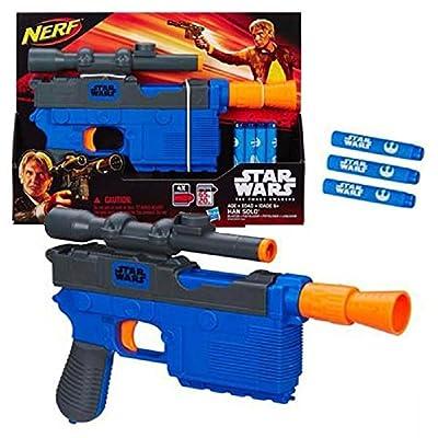 Star Wars Episode VII Nerf Han Solo Blaster: Toys & Games