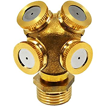 Amazon Com Orbit 10106 Brass And Stainless Steel Mist