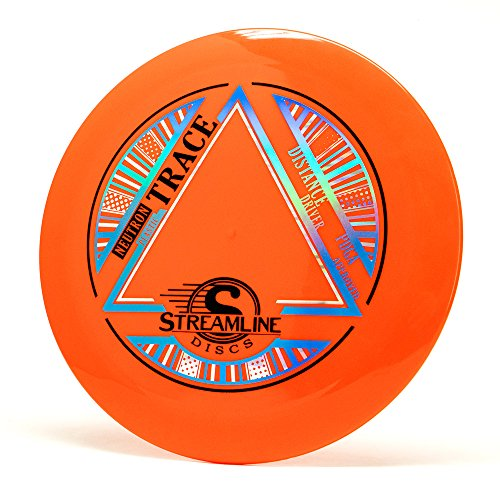 Streamline Discs Neutron Trace Disc Golf (165-169g / Colors May Vary)     - Extra Long Disc Golf Driver