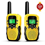 Walkies Talkies for Kids, 22 Channels FRS/GMRS UHF Two Way Radios 4 Miles Handheld Mini Kids Walkie Talkies for Kids Best Gifts Kids Toys Built in Flashlight
