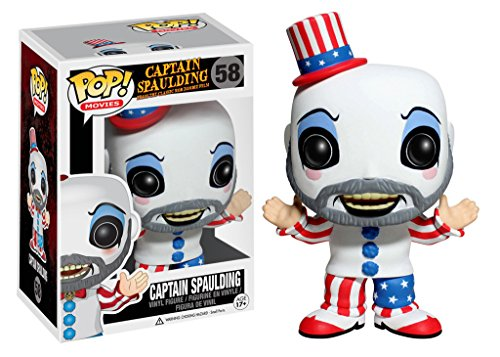 House 1000 Corpses Costumes - Funko POP Movies: Captain Spaulding Vinyl Figure