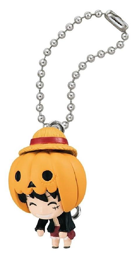 Amazon.com: One Piece Luffy Swing Figure Keychain~Halloween ...