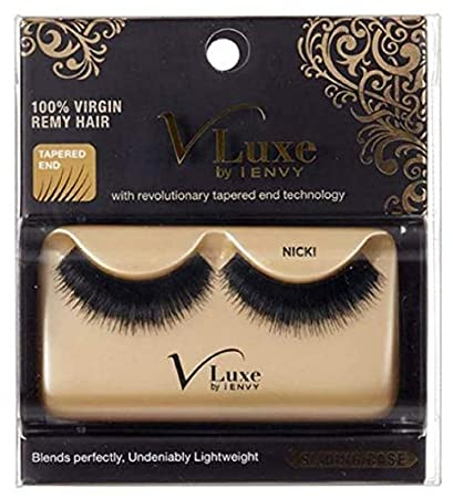 c87fb8c10a1 Amazon.com : V Luxe 100% Virgin Remy Hair Eyelashes Blair by V Luxe : Beauty