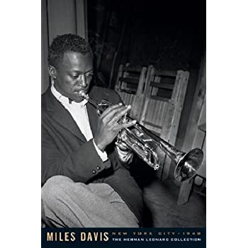 Amazon Com Miles Davis Herman Leonard Photography Poster