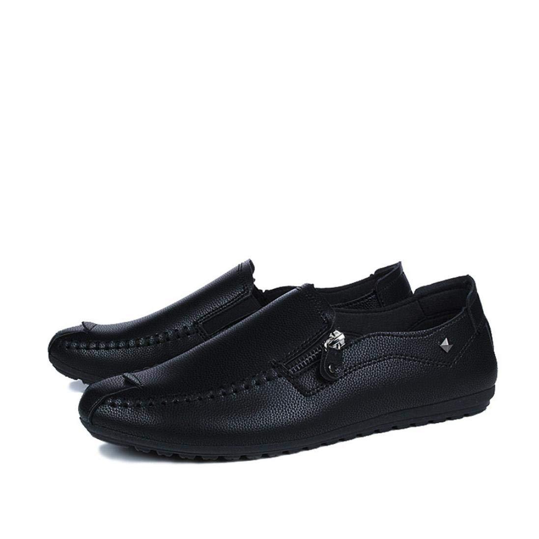 WWricotta LuckyGirls Hombre Zapatillas para Andar Casual Calzado de Planos Transpirables Zapatos Informales Bambas Zapatos de Cuero para Perezoso N/áuticos Mocasines
