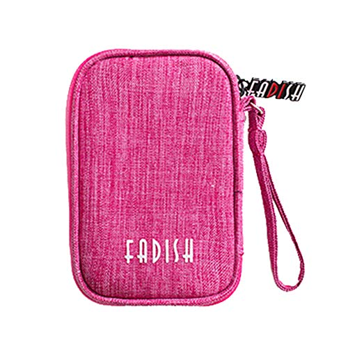 Skareop Square Storage Bag Electronics Accessories Carry Case Travel Cable Bag Gadgets Storage Organizer Bag Size 13 * 8…