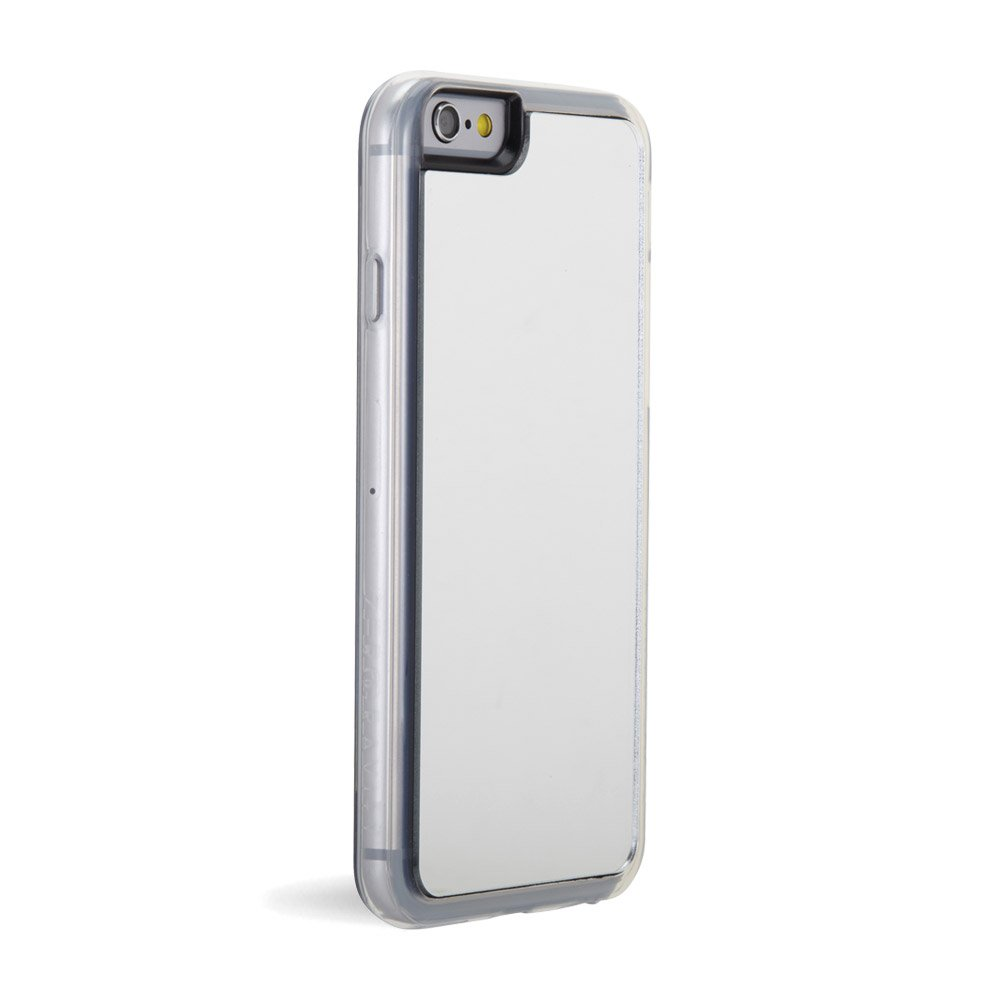 big sale 5e922 3428c ZERO GRAVITY Cell Phone Case for Apple iPhone 6/6s - Retail Packaging -  Silver/Mirror