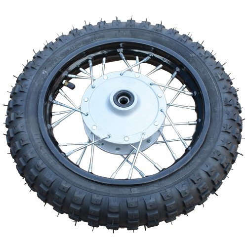 "10"" Front Wheel Rim Tire Assembly for 50cc 70cc 110cc Dirt Bikes for sale"