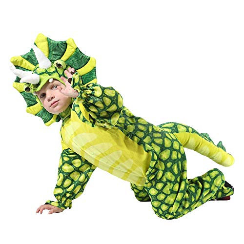 Toddler Silly Safari Costume Baby's T-rex Jumpsuit Suit (4-6T(39