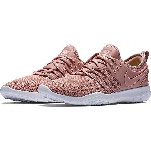 NIKE Women's WMNS Free Tr 7 Trainers, Pink (Rust Pink/White/Coral Stardust 604), 3.5 36.5 EU