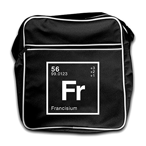Dressdown Bag Retro Red Francis Flight Black Periodic Element r81qvr
